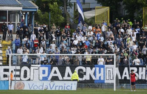 OFK Beograd supporters